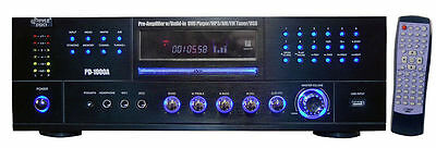 (1000W HOME HOUSE DIGITAL STEREO AUDIO AMP AMPLIFIER NEW)