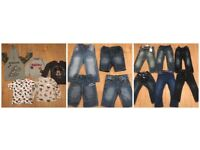 15 X BOYS 2-3 YEARS JEANS INCLUDING BRAND NEW MINI CLUB JEANS WITH TAGS