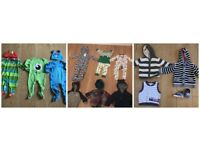 12 X BOYS 6-9 MONTHS JOBLOT INCLUDING 2 NEW , 2 MONSTERS INC , F+F SHOES