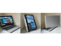 HP 810 Revolve EliteBook tablet/laptop. 12GB RAM. 256GB SSD. New battery. Backlit keyboard. Webcam..