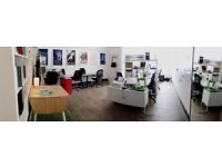 Amazing and CHEAP desp space to rent at a music agency based in Haggerston