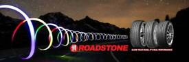 225 40 18 roadstone tyres A,wet grip £50 fully fitted