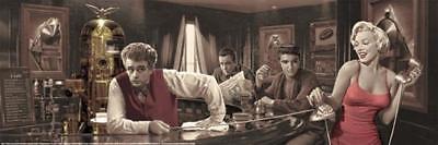 Chris Consani Java Dreams Dean Bogart Presley Monroe Movie Icons Poster   36X12