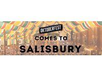 """"""" Tickets for Octoberfest in Salisbury"""