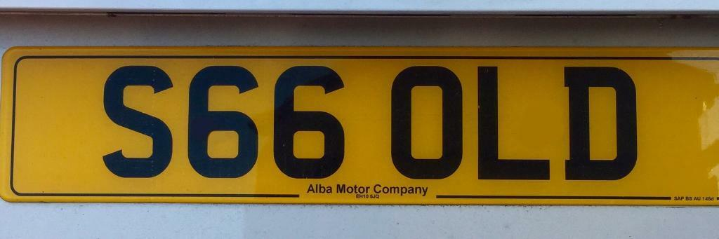 Private reg S66 OLD (GOLD,SOLD,OLD)