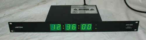 Leitch DTD-5230 Digital Time Display