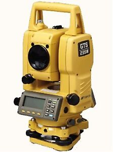 topocon 233 gts total station/ getec data collector