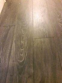 Left over laminate flooring black