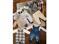 Baby boys clothes bundle 0-6months