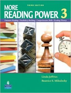 More reading power 3, almost new