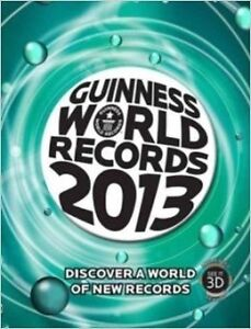Guiness record world books 2008-2013