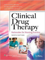 Clinical drug therapy-