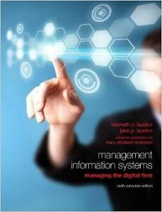 Management Information Systems textbook (used)