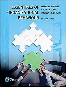 Essentials of Organizational Behaviour canadian edition