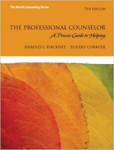 The Professional Counselor: A Process Guide to Helping (7th Ed.)