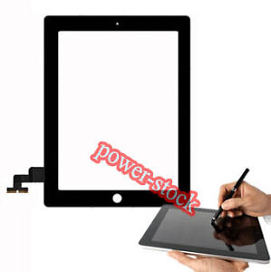 Black-New-Touch-Glass-Screen-Digitizer-For-iPad-2-2nd-Gen-A-Qual