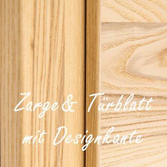 Abb.: Zarge & Türblatt mit Designkante | Foto: © Zimmertüren OCHS