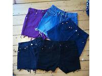 244264f9 Vintage Women's Shorts Bulk Wholesale Levi's Wrangler