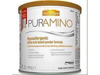 Nutramigen Puramino Hypoallergenic Amino Acid Formula 400g x 7