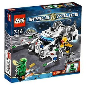 LEGO: Space Police Gold Heist: Set 5971 BRAND NEW RETIRED