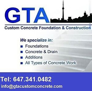 Residential, Commercial & Industrial Concrete Services