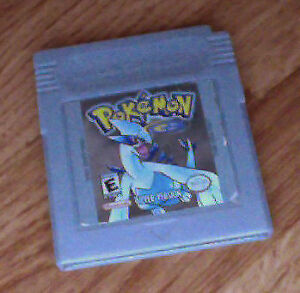 Pokemon Silver with new save battery
