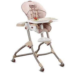 Fisher Price Easy Clean high chair - practically new