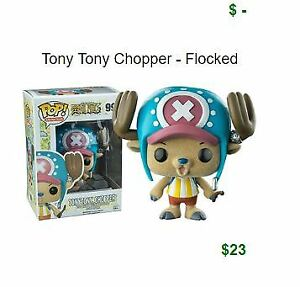 looking for Funko ONE PIECE Tony Chopper Flocked