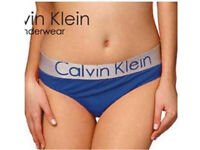 OUTLET CK CALVIN KLEIN WOMEN'S BRIEFS PANTIES UNDERWEAR ALL COLOURS
