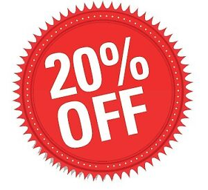 20% off all pine and blue spruce Christmas Trees