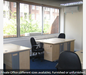 Bayswater Private Office, Self contained units, various sizes (W2)