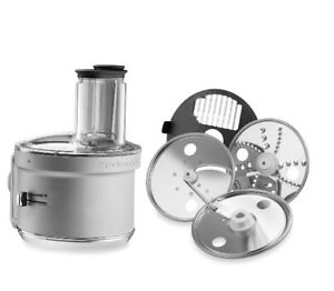 KITCHENAID FOOD PROCESSOR DICING DISKS STAND MIX ATTACHMENT NEW