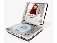 Portable DVD player, like new