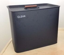 Storage box for cleaning items or decoration
