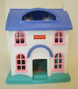 Vintage Fisher Price Little People - Castle, Farm Set | eBay