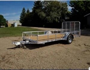 2016 legend aluminum utility atv  trailer