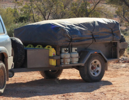OFF ROAD Camper trailer tent on a SAR Major trailer Angaston Barossa Area Preview