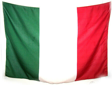 Italy Flag MADE FOR OUTDOOR - 3 1/4