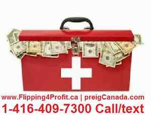 Emergency CASH for Canadian property owners