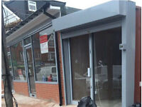Shop to let - 720 Stratford - Last Unit - £100 per week - with Shopfront and Shutters