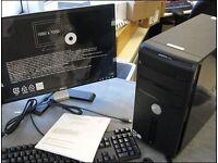 """FAST SSD - Dell Vostro 200 Computer Tower PC & 17"""" Dell LCD -"""