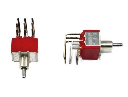 3PDT, Toggle Switch,