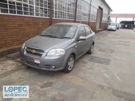 Chev Aveo Sedan 1.6 STRIPPING FOR SPARES AND PARTS