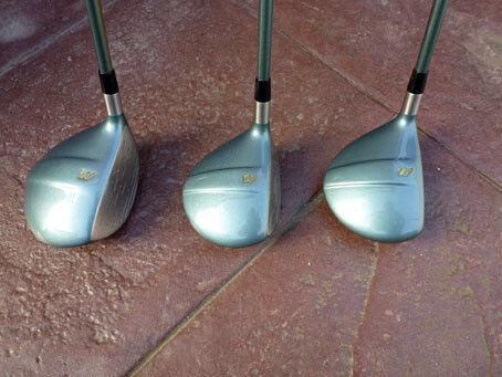 Women's golf woods Mizuno Zoid set 1, 3, 5