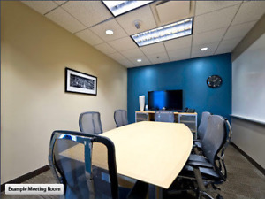 Furnished Single Office Suites & Reception Services Renting Now