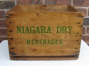 Niagara Dry Pop Crate from the 1960's