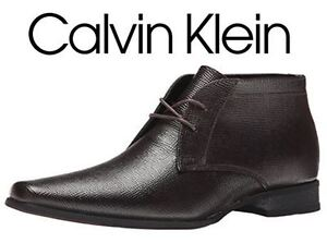 NEW CALVIN KLEIN LEATHER BOOTS 8.5