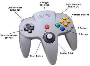 FS- Nintendo N64 controllers new in package