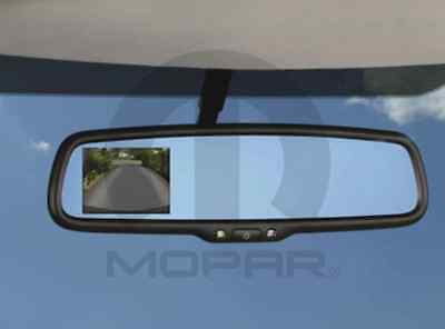 14-16 Ram Promaster New Back Up Camera for Rear View Mirror Mopar Factory Oem