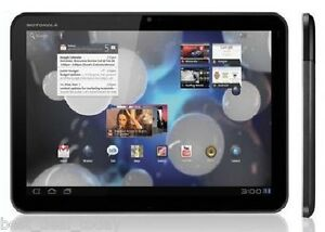 MOTOROLA XOOM MZ602 32GB, WI-FI + 4G VERIZON ONLY 10.1IN - BLACK 10.1